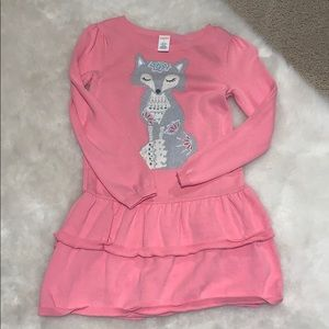 Gymboree girls sz 8 fox dress